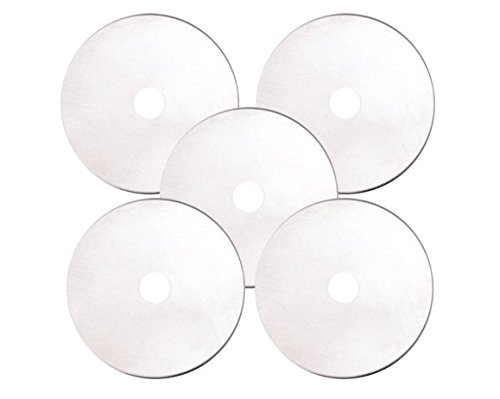 Fiskars 45mm Rotary Cutter Blades 5 Piece Per Pack