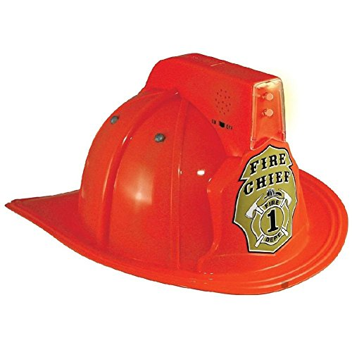 Jr. Fire Chief Helmet Costume Accessory Kids