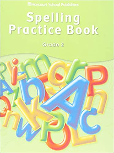 Storytown Spelling Practice Book Student Edition Grade 2
