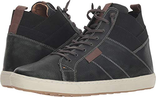 GBX Mens Omni Black High Top Sneakers Shoes 10