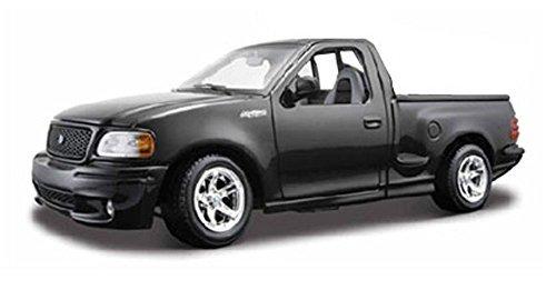 Ford F-150 SVT Lightning Pickup Truck, Black - Maisto 31141 - 1/21 Scale Diecast Model Toy Car (Truck Svt Lightning)