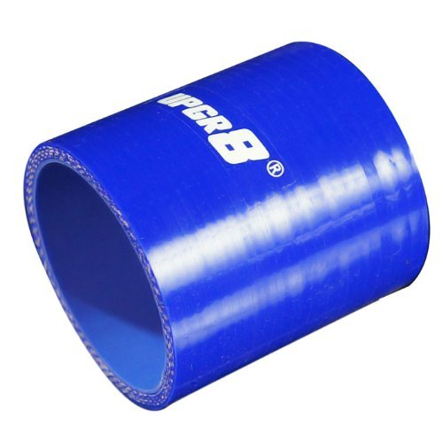 , Red 3.25 Upgr8 Universal 4-Ply High Performance Straight Coupler Silicone Hose 76mm Length 83MM