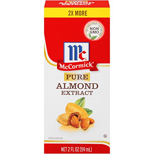 McCormick Pure Almond Extract, 2 OZ (Pack of 3) by McCormick Spices