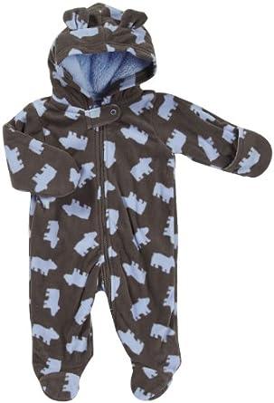 Amazon Com Carter S Baby Boys Pram Fleece Bear 6