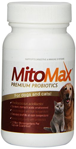 MitoMax-premium probiotics for dogs and cats, 40 capsules per bottle