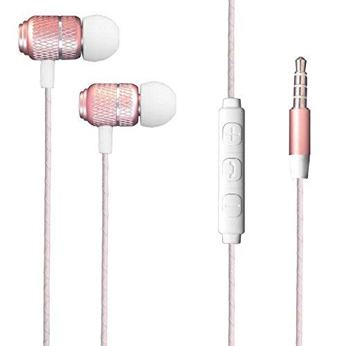 AMPLE Galaxy J4 Plus/Galaxy J6 Plus Earphone – Wired Bass Stereo In-ear Headphone Earphone Headset Earbuds with Remote…