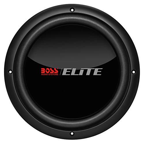 (BOSS Audio Elite BDVC10 10 Inch Car Subwoofer - 1500 Watts Maximum Power, Dual 4 Ohm Voice Coil, Black)