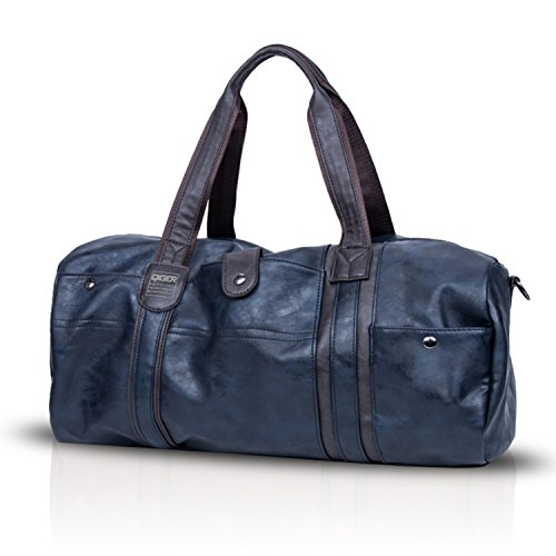 New Crossbody Bags Handbag Tote Unisex Travel Shoulder Bag Fandare Outdoor Blue Pu Waterproof Hiking UBgqwxq