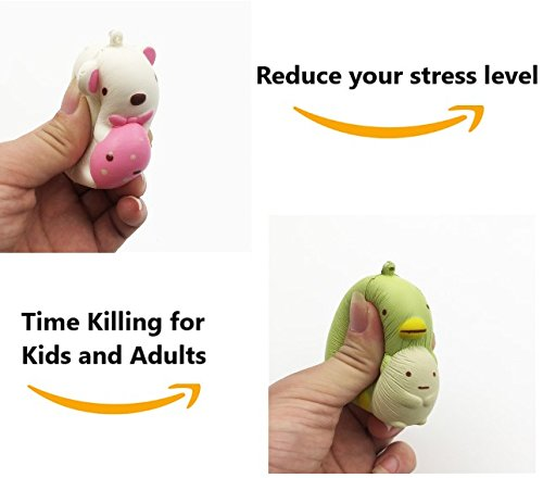 Constructive Squishies Hamster Squishy Kawaii Slow Rising Squeeze Scented Antistress Animal Jumbo For Stress Reliever Squish Novelty Kids Toy A Great Variety Of Models Home
