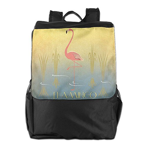 Travel Men Personalized for HSVCUY and Flamingo Adjustable Outdoors Backpack Dayback Women Storage Camping School Shoulder Strap BUtfqnZ