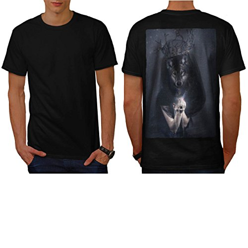 [Big Bad Wolf Woman Evil Queen Men NEW S T-shirt Back | Wellcoda] (Big Bad Wolf Outfit)