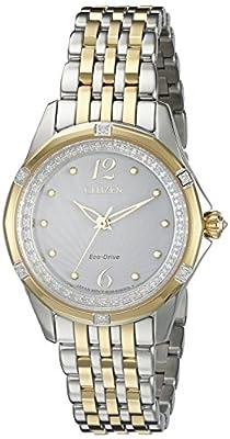 Citizen Women's EM0374-50A Citizen Signature Versaille Analog Display Japanese Quartz Two Tone Watch