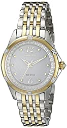 Citizen Women's EM0374-50A Citizen Signature Versaille Analog Display Japanese Quartz Two Tone Watch