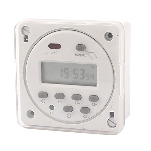 eDealMax CN101A AC/DC24V LCD Digital Power Programmable Timer Time Relay Switch by eDealMax (Image #2)