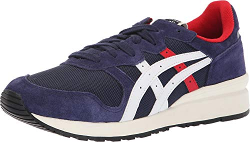 (Onitsuka Tiger by Asics Unisex Tiger Ally Peacoat/Cream 7 Women / 5.5 Men M US)