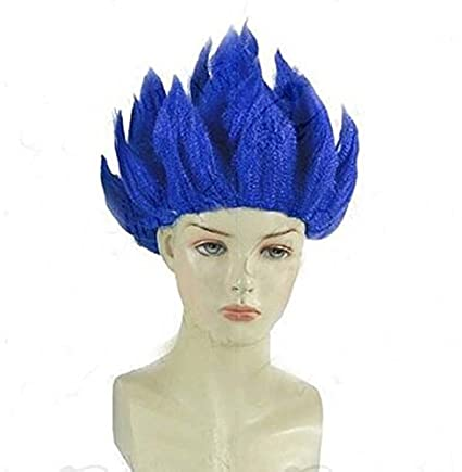 Peluca de Goku, personaje del manga japonés Dragon Ball de Eturke, ideal para fiestas de disfraces: Amazon.es: Belleza