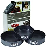 3 Piece Round Springform Pan Set
