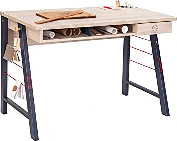 Prima Schreibtisch 150x80cm Bürotisch Arbeitstisch Tisch Schwarz Gestell Weiß