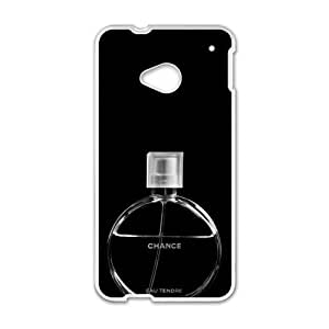 Happy Famous brand logo Chanel perfume design fashion cell phone case for HTC One M7