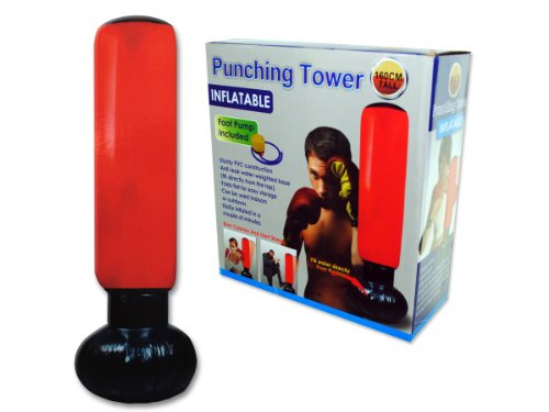 Fitness punching bag, Case of 4 by bulk buys