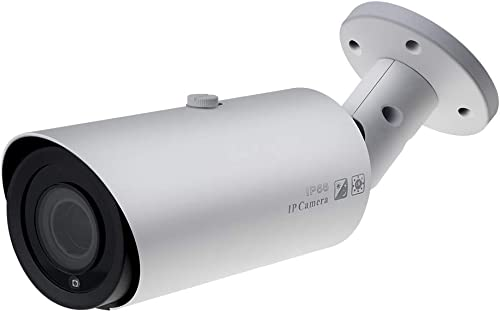 4K 8MP Motorized Varifocal PoE Outdoor Security IP Camera,Hikvision Compatible,2.8-12mm 4X Optical Zoom,131ft Night Vision,Built-in Audio Input,SD Slot,Onvif,IP66 VK-IMBA8-ZSA