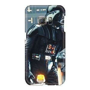 High Quality Phone Cover For Samsung Galaxy S6 With Custom HD Star Wars Movies Darth Vader Series JamieBratt