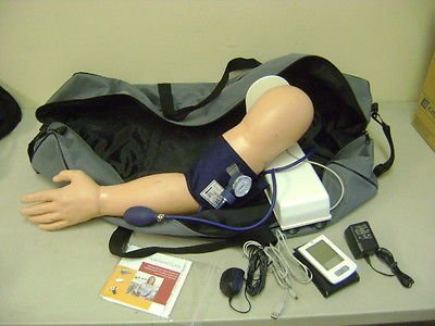 Simulaids Blood Pressure Arm Simulator Manikin Nursing Emt (Blood Pressure Simulator)