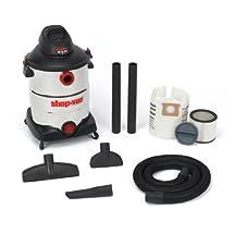 Shop-Vac 5986300 16-Gallon 6.5 Peak HP Stainless Steel Wet Dry Vacuum