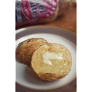 24 Bagel Lites Fresh NYC mini bagel balls- MIXED! SESAME, PLAIN & EVERYTHING (3 PACK)