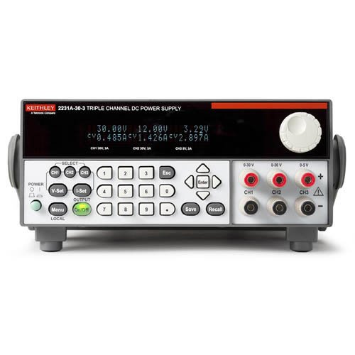 Keithley 2231A-30-3 Triple-Output DC Power Supply, 195W