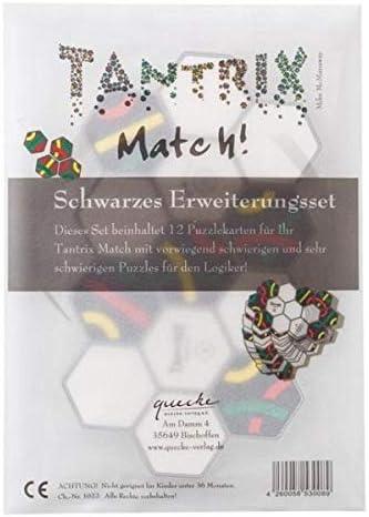 Tantrix Match!, Schwarzes Erweiterungsset (Spiel-Zubehör): Amazon ...
