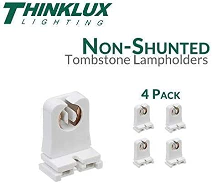 Thinklux Non-Shunted Rapid Start Tombstones for LED T8 Conversions