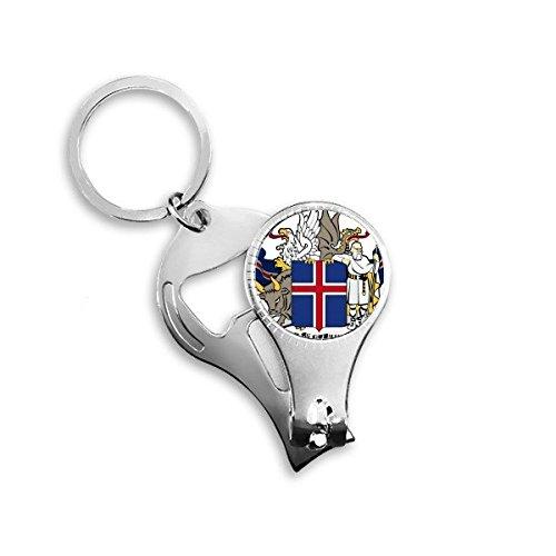 Llavero de metal con diseño de símbolo de país de Noruega ...
