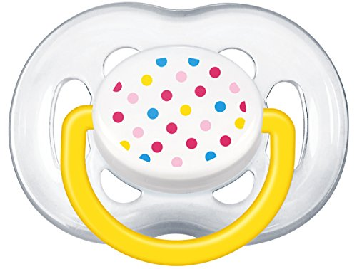 Philips Avent BPA Free Freeflow Pacifier, Colors May Vary, 2 Count
