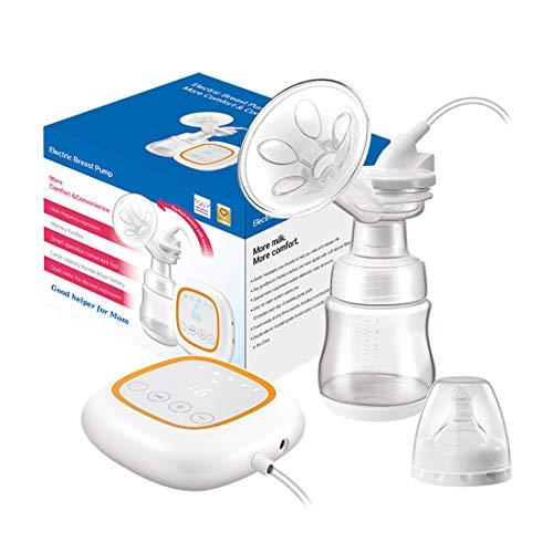 Electric Breast Pump,Comfort Breastfeeding Breast Pump Milk Pump, Single Baby Breast Pump for Travel USB Charging Suction HD LED Display