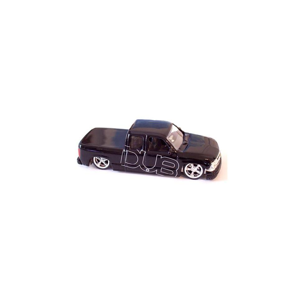 Jada Dub City 2000 Black Chevy Silverado 164 Scale Die Cast Car