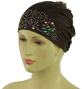 Bone Hijab Cap Khaleeji Volumizer - Dark Brown
