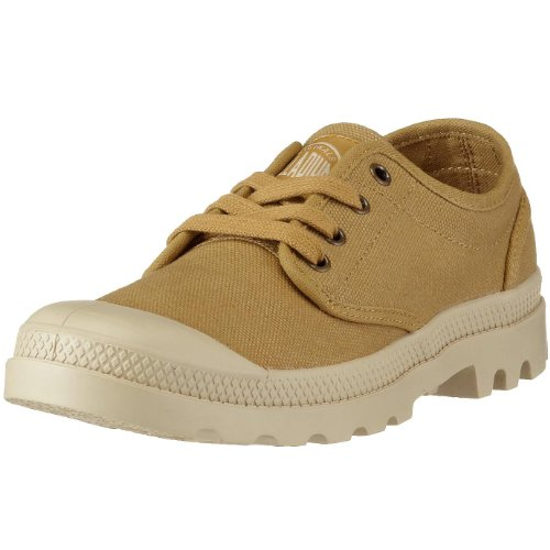 Palladium Pampa Oxford - Zapatos para hombre Marrón (MUSTARD/PUTTY)