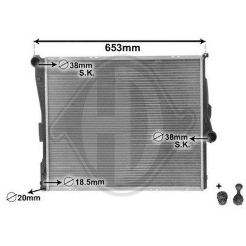 Diederichs DCM1571 Radiator, radiator: