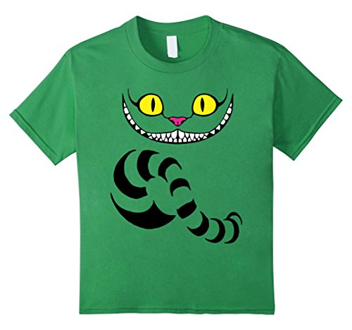Kids Big Grin Wicked Cat T-Shirt - Best Halloween Costume Idea 4 Grass (4 Halloween Costume Ideas)