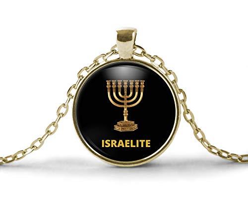 (Hebrew Israelite Necklace Men & Women, 12 Tribes of Israel Judah, Benjamin, Levi, Reuben, Simeon, Naphtali, GAD, Asher, Issachar, Zebulun, Mannasseh a)