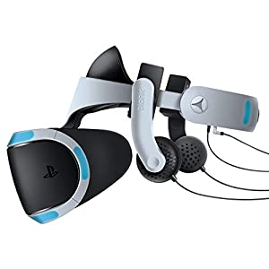 Best Epic Trends 41i%2BjW8y8-L._SS300_ Bionik Mantis VR Headphones - High Fidelity Headset For PSVR (PS4)