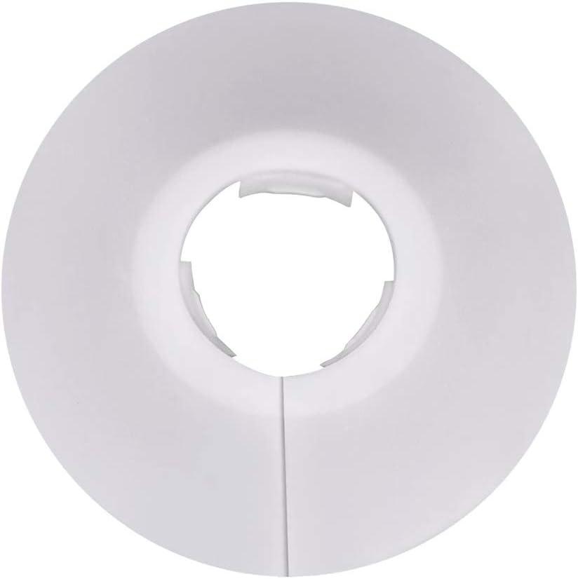Cubierta para Tubos de Radiador Adecuada para Di/ámetro de Tuber/ía de 21 Mm // 0.82in 6 Piezas de Tuber/ías Cubiertas Cubierta para Tuber/ías Tapa de Tubo de Pl/ástico Del Radiador