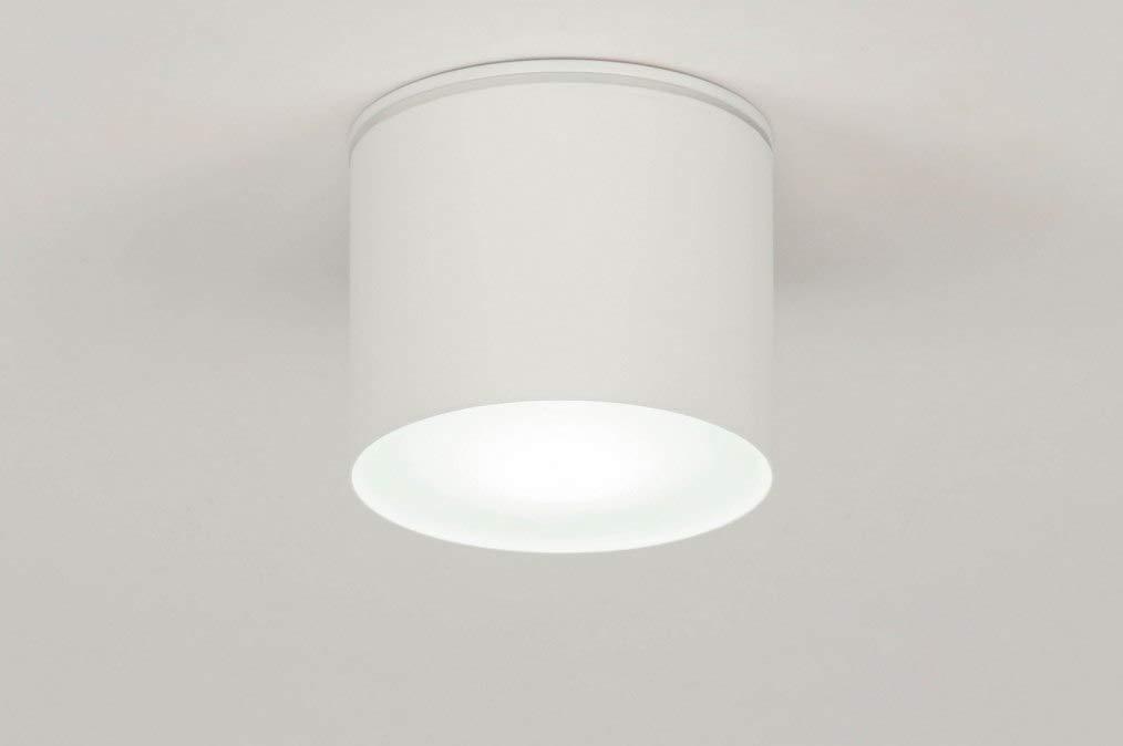 Lumidora Deckenleuchte Modern Aluminium Weiss Matt