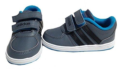 Adidas Hoops vs cmf inf grey/cblack/solblu, Größe Adidas:26