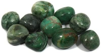 20-25mm Single Stone African Jade Tumble Stone