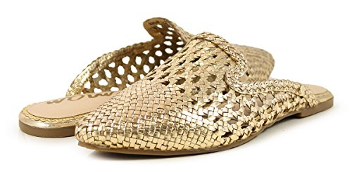 Edelman Molten Donna Navy Scarpe PE18 Sam Gold Black Leather 6qdzTP