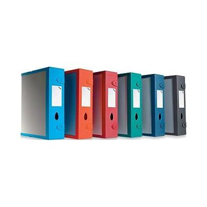 Fellowes E500 Scatola Archivio Combi Box, Verde Bosco E500VB