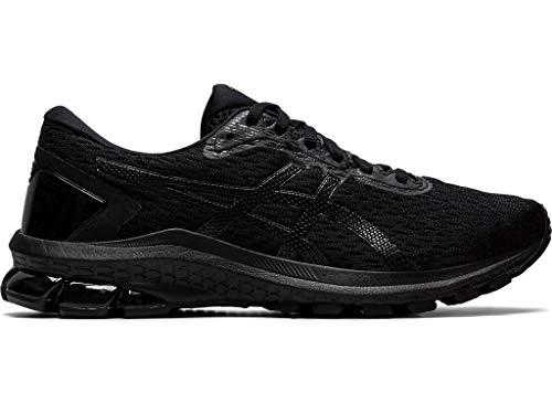ASICS Women's GT-1000 9 Running Shoes, 8.5M, Black/Black