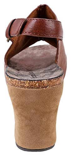 Dumas Sandals Buckle An Wedge 14 Side Low Hester Whisky Adjustable With Pierre Women dwPadq